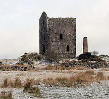 snow dusted engine-house II by Lucan  Netley (LDN Photoart)