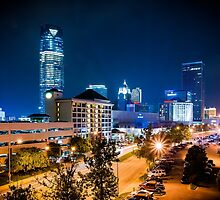 Downtown Oklahoma City by Jim Felder