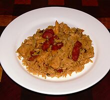 Jambalaya - A taste of cajun cuisine! by Sandra Chung