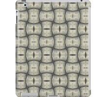 Silver Tracery iPad Case/Skin