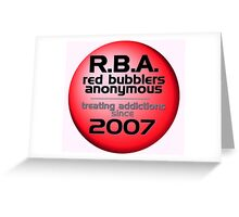 R.B.A. Greeting Card