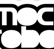 Mocharobot's Logo Sticker