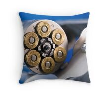357 Magnum Throw Pillow