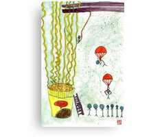 The Mission of Instant Noodles Canvas Print