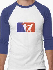 Major League Zombie  Men's Baseball ¾ T-Shirt