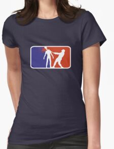 Major League Zombie  Womens Fitted T-Shirt