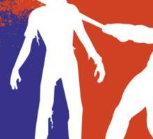 Major League Zombie  Sticker