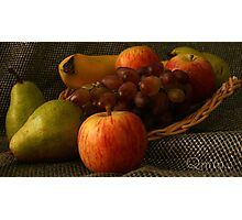 Fruit Display... South Africa, Free State Photographic Print