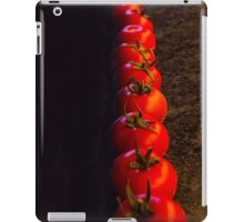 Tomato crop begins! iPad Case/Skin