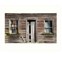 No One home Art Print