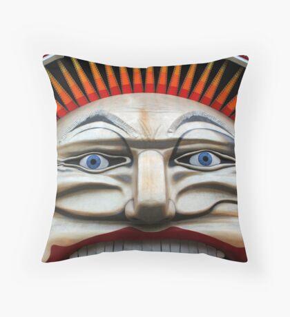 Fun Face Throw Pillow