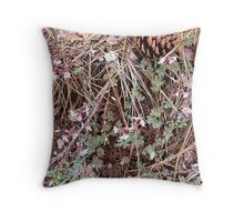 earth palette Throw Pillow