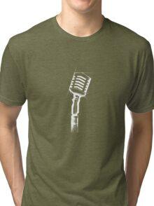 jazz microphone Tri-blend T-Shirt
