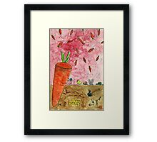 Everyone Love Carrot Framed Print