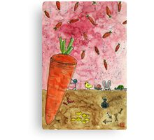 Everyone Love Carrot Canvas Print