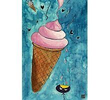 It Look Like Ice-cream Photographic Print