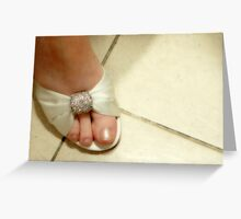 Shoes Greeting Card