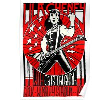 Lila Cheney Live at Wembley Stadium Poster