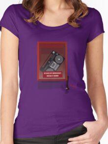 Emergency Break Women's Fitted Scoop T-Shirt