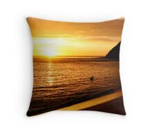Sunrise at Long Reef Throw Pillow