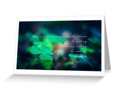 There is only one way to avoid criticism: do nothing, say nothing and be nothing.  Greeting Card