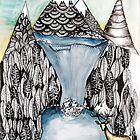 An alpine scene by Jenny Wood
