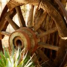 """""""Old Wagon Wheel""""  (South Africa) by Qnita"""