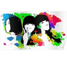 Perfume Band Girls Poster