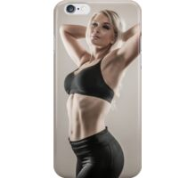 Fitness woman iPhone Case/Skin