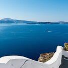 Santorini, Greece by Nigel Donald
