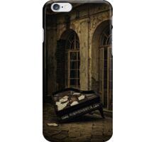 Unfinished symphony iPhone Case/Skin