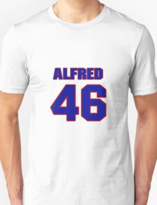 National football player Alfred Anderson jersey 46 T-Shirt