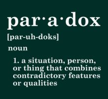 Paradox by EarthBoundTees