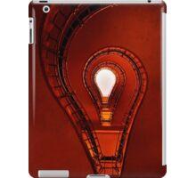 The lightbulb staircase iPad Case/Skin