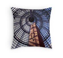 Shot Tower Interior, Melbourne Throw Pillow