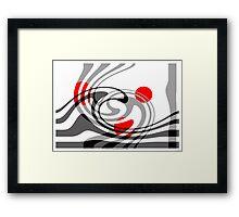 Swing 2 Framed Print