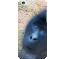 Gorilla Design Illustration iPhone Case/Skin