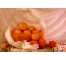 Brighty oranges and lemons... Free State, South Africa Photographic Print
