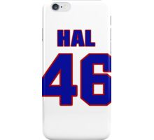 National football player Hal Wantland jersey 46 iPhone Case/Skin