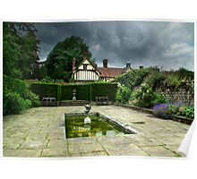 Stables and Secret Garden at Ightham Mote Poster