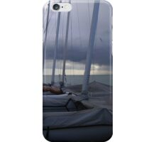 Wait till the storm is over... (Eastbourne, England) iPhone Case/Skin