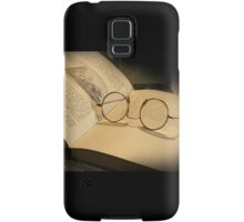 Once upon a time... (Old Book & Glasses) Free State, South Africa Samsung Galaxy Case/Skin