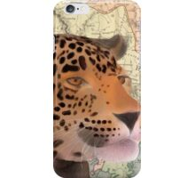 Leopard Design Illustration iPhone Case/Skin
