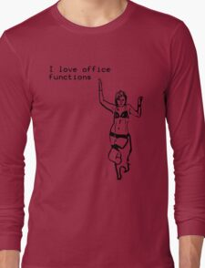 Cubicle Humour Long Sleeve T-Shirt