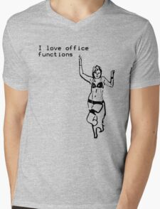 Cubicle Humour Mens V-Neck T-Shirt