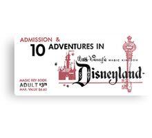 Adventures in Disneyland Metal Print