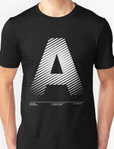 The letter A T-Shirt
