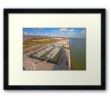 Doca de Belém. Framed Print