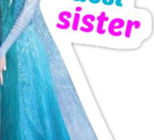 Elsa's view of Sisterhood Sticker