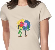 Companion Plants Womens Fitted T-Shirt